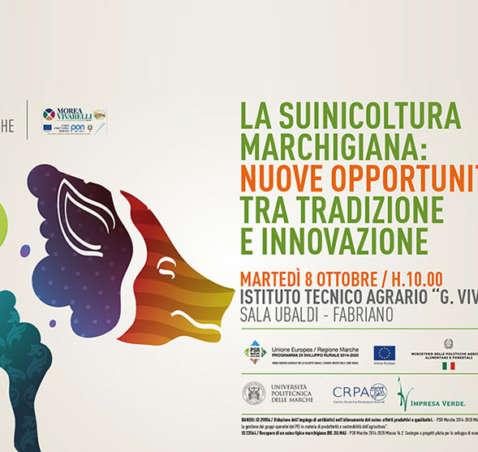 Suinicoltura marchigiana: Bovinmarche presenta, con un convegno e degustazione, i risultati del progetto di incrocio storico
